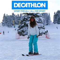 Преложения из Decathlon в рекламном проспекте Эстосадок