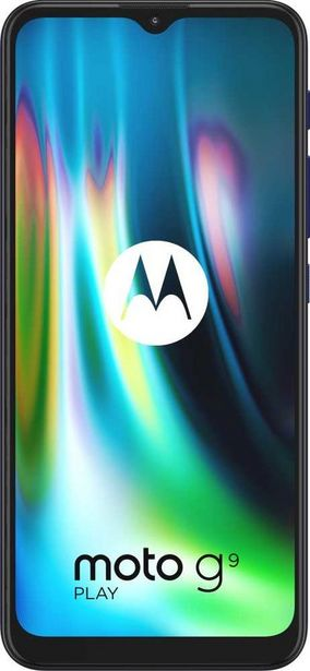 Акция | Смартфон MOTOROLA G9 PLay 64Gb,  XT2083-3,  синий за 12990₽